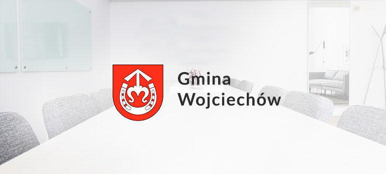 Informacja Wójta Gminy Wojciechów o sporządzeniu spisu wyborców
