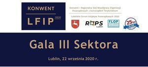 Zaproszenie 22-23 września 2020 r. Konwent - Regionalna Sieć Współpracy Organizacji Pozarządowych z Samorządem Terytorialnym/ Lubelskie Forum Inicjatyw Pozarządowych 2020