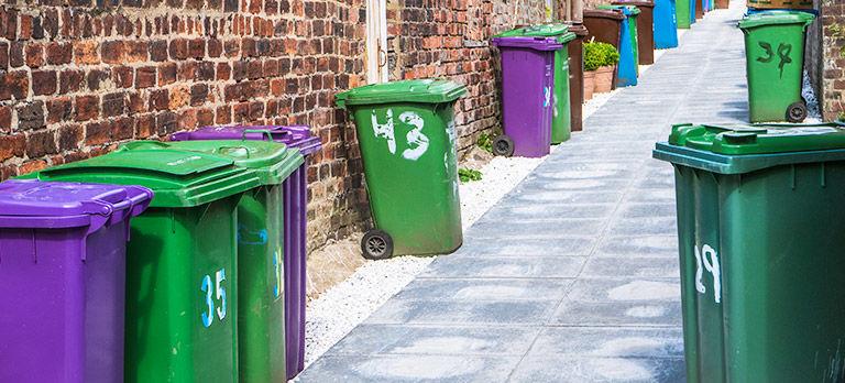 kontenery na odpady
