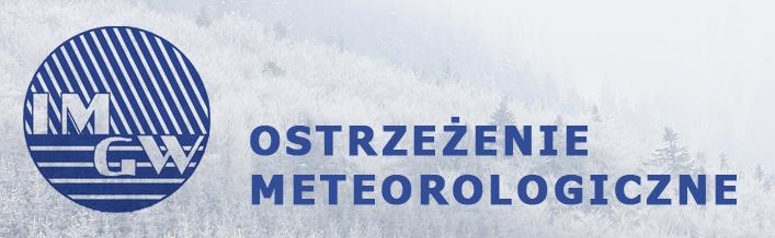 PROGNOZA NIEBEZPIECZNYCH ZJAWISK METEOROLOGICZNYCH - Zawieje/zamiecie śnieżne, Intensywne opady śniegu