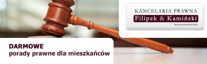 Darmowe porady prawne dla mieszkańców