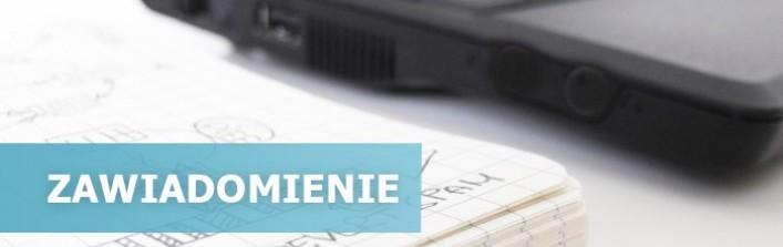 Zawiadomienie z dn. 2.09.2013 - Starostwo Powiatowe u Lublinie, Wydział Ochrony Środowiska, Rolnictwa i Leśnictwa