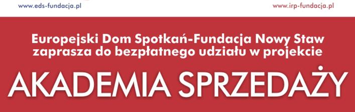 Europejski Dom Spotkań - Fundacja Nowy Staw zaprasza do bezpłatnego udziału w projekcie