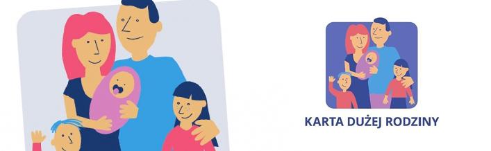 Zapraszamy lokalnych przedsiębiorców i instytucje do włączenia się do ogólnopolskiego programu Karta Dużej Rodziny.