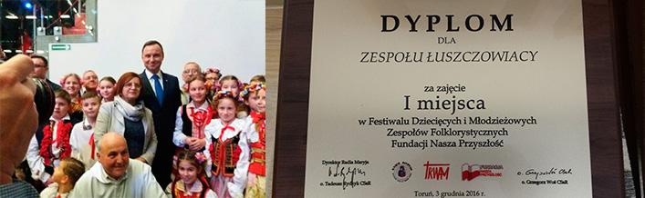 Festiwal Dziecięcych i Młodzieżowych Zespołów Folklorystycznych  Fundacji Nasza Przyszłość