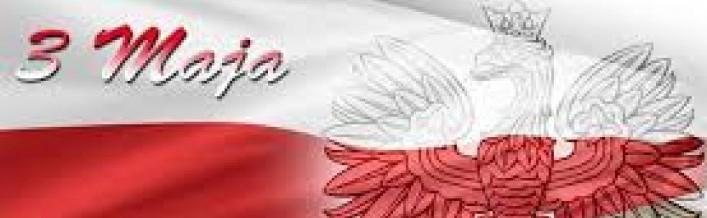 Zapraszamy wszystkich mieszkańców Gminy Wólka do udziału w obchodach 226 rocznicy uchwalenia Konstytucji 3 Maja i Święta Matki Boskiej Królowej Polski