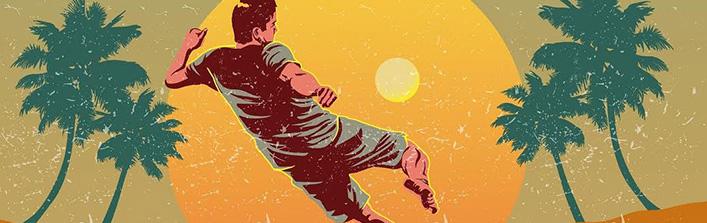 Zapraszamy na   Wojewódzki Rekreacyjny Turniej Piłki Nożnej Plażowej w Niedrzwicy Dużej