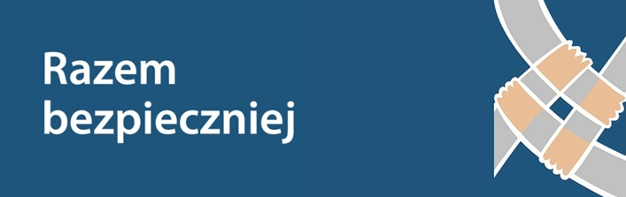 PRZECHODZIMY BEZPIECZNIE - poprawa bezpieczeństwa na przejściach dla pieszych na Osiedlu Borek w gminie Wólka