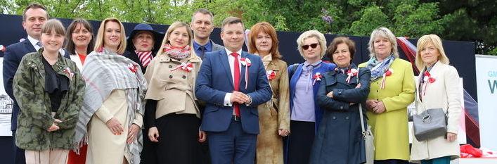 Święto dumy i radości - relacja z obchodów święta 3 Maja w gminie Wólka