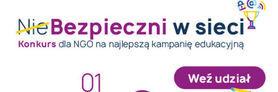 (Nie)Bezpieczni w sieci - konkurs dla NGO na najlepszą kampanię edukacyjną