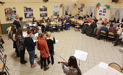 Spotkanie opłatkowe w Kalnie