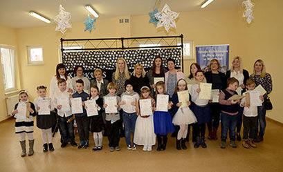 Uczestnicy konkursu z nagrodami