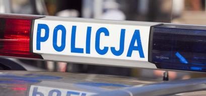 Kogut policyjny na radiowozie