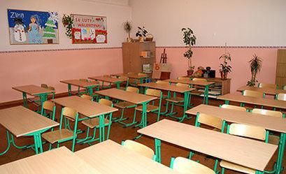 Pusta sala w szkole