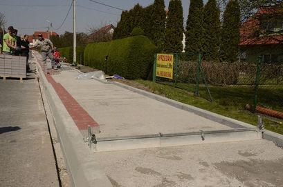 Budowa chodników