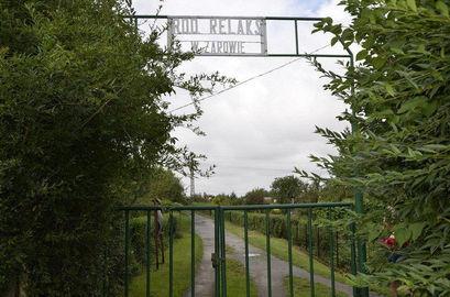 Brama do ogródków ROD
