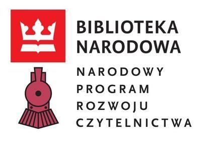 LogoBIBLIOTEKA NARODOWA  oraz LOGO NARODOWY PROGRAM ROZWOJU CZYTELNICTWA