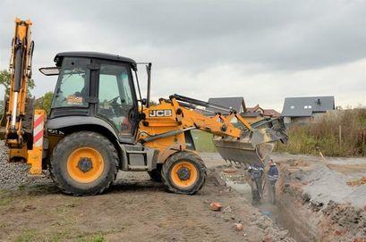 II etap prac kanalizacyjnych na osiedlu domków jednorodzinnych