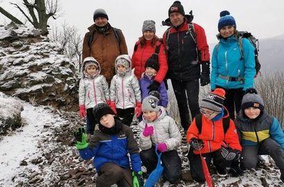 Zdjęcie z wyprawy z uczestnikami