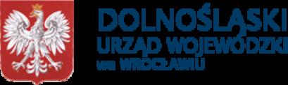 Herb polski i napis DOLNOŚLĄSKI URZĄD WOJEWÓDZKI we WROCŁAWIU