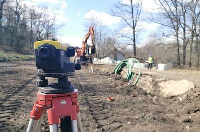 Zdjęcie z prac budowlanych