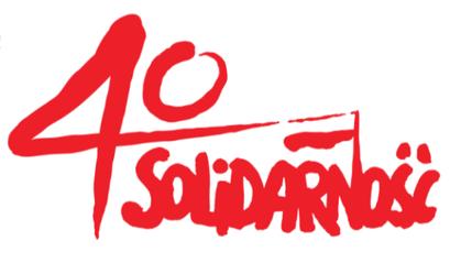 Logo 40 Solidarność