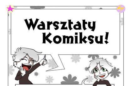 Plakat Warsztaty Komiksu w Żarowie