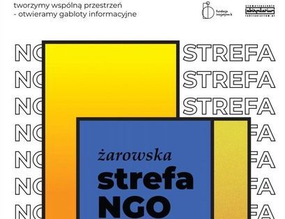 Plakat Żarowska Strefa NGO