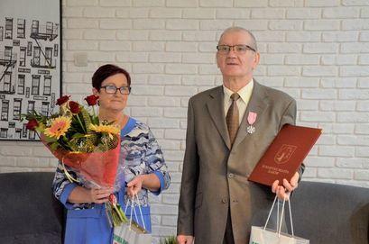 Jubilaci Bogumiła i Jan Wilk