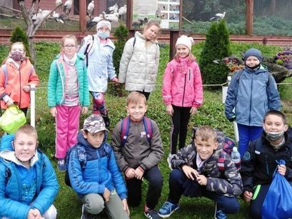 Uczniowie SP Imbramowice na warsztatach w Myśliborzu