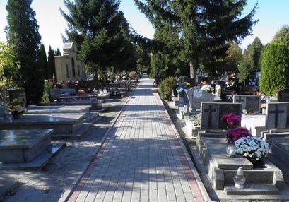 Cmentarz komunalny w Żarowie