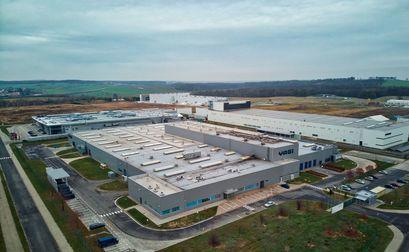 Budynek zakładu Yagi Poland Factory w Żarowie