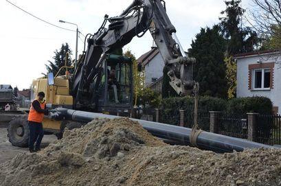 Ostatni etap prac kanalizacyjnych przy ul. Słowiańskiej w Żarowie