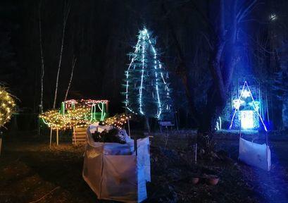 Świąteczne dekoracje na terenie wsi Imbramowice