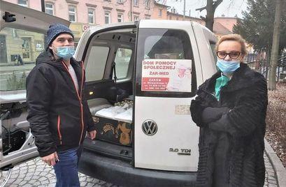 """Podziękowanie dla Fundacji """"Babcia i Dziadek"""" w Żarowie"""