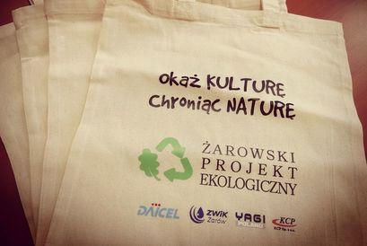 Bądź EKO! Zrezygnuj z foliówek! Przyjdź i odbierz ekologiczną torbę na zakupy!