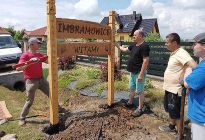 Witacze w Imbramowicach i Tarnawie