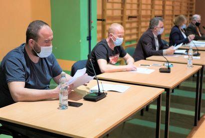 Uczestnicy Posiedzenia Komisji