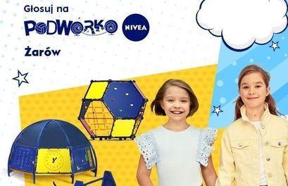 plakat Podwórko Nivea
