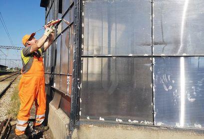 Trwają prace remontowe w przejściu podziemnym