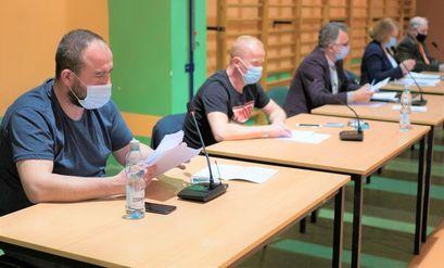 Na zdjęciu uczestnicy Sesji Rady Miejskiej