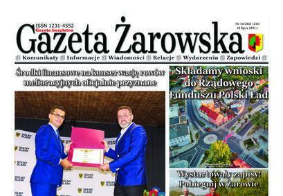 Nowy numer gazety 14/2021