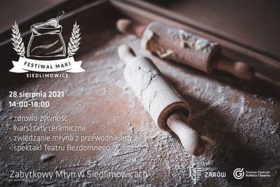 Festiwal Mąki w siedlimowickim młynie