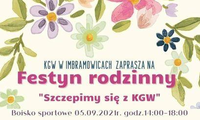 """#SzczepimySię z KGW"""" w Imbramowicach"""