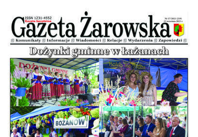 Nowy numer gazety 17/2021