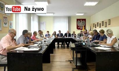 Transmisja obrad Rady Miejskiej w Żarowie
