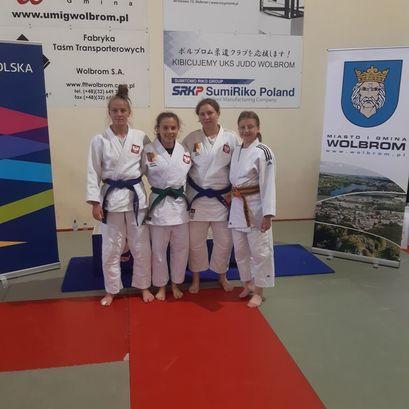 Udane starty judoczek z Żarowa