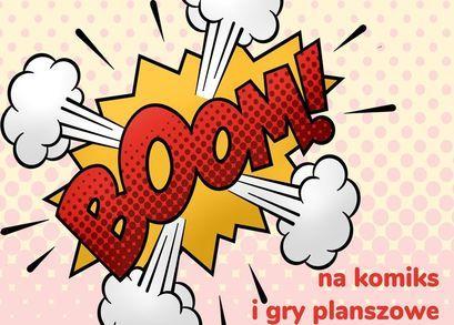 Boom na komiks i gry planszowe w bibliotece