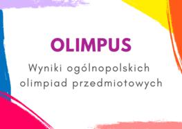 Wyniki Ogólnopolskiej Olimpiady Przedmiotowej z biologii