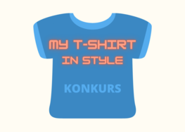 """Konkurs """"My T-shirt in style"""""""